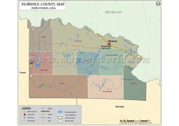 Florence County Map
