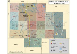 Langlade County Map