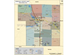 Portage County Map