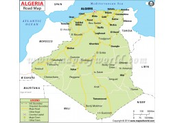 Algeria Road Map