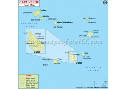 Cape Verde Road Map