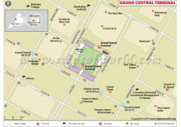 Grand Central Terminal Map