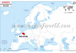 Belgium Location Map