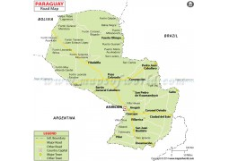 Paraguay Road Map