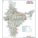 Buy Indian Railway Map