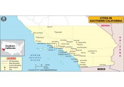 Cities in Southern California