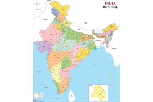 India Districts Map