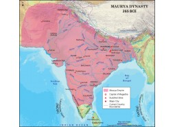 The Mauryan Empire Map