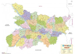 Bihar Detailed Map