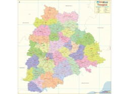 Telangana Detailed Map