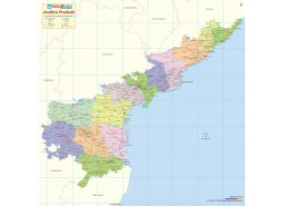 Andhra Pradesh Detailed Map