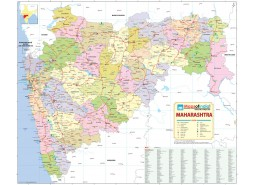 Maharashtra Detailed Map