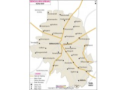 Bengaluru Urban Road Map