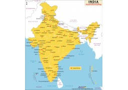India Airport Map