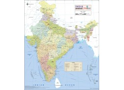 India Details Map