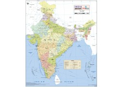 India Detailed Map
