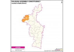 Kaliganj Assembly Constituency Map