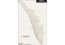 Kerala Assembly Map