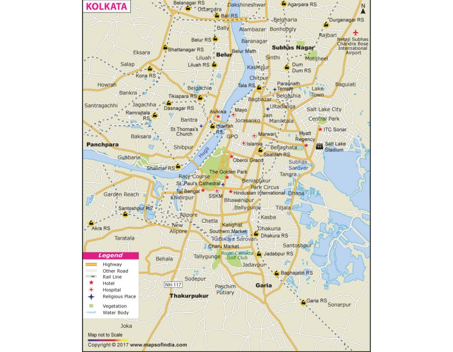 Kolkata Map Pdf