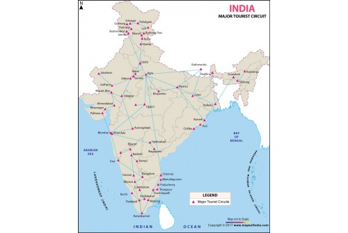 Tourist Circuits in India