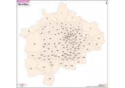Nagpur Ward Map