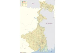 West Bengal Large Map