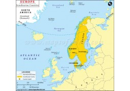 Scandinavian Countries Map