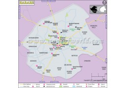 Harare Map