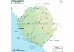 Sierra Leone River Map