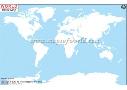 Blank World Map