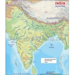 Buy India River Map