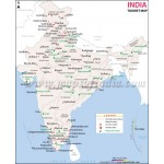 Tourist Map Of India