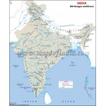 India Hill Ranges Map