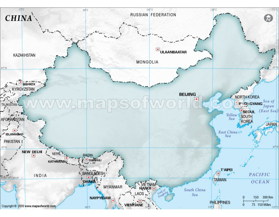 Buy china blank map in gray background china blank map in gray background gumiabroncs Image collections