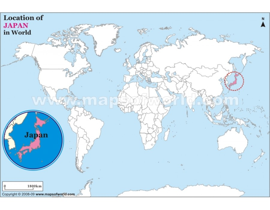 Buy japan location on world map japan location on world map gumiabroncs Images