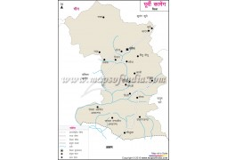 East Kameng District Map Hindi