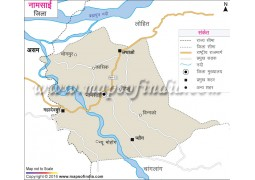 Namsai District Map Hindi