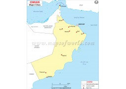 OmanMap withCities
