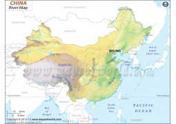 China River Map