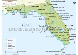 Florida Tourist Map