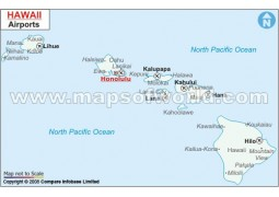 Hawaii Airports Map