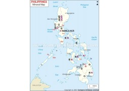 Phillippines Mineral Map