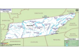 Tennessee River Map