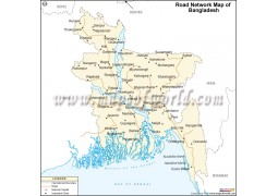 Bangladesh Road Map