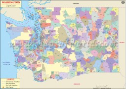 Washington Zip Code Map