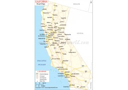 California Road Map