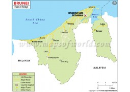 Brunei Road Map
