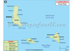 Comoros Road Map