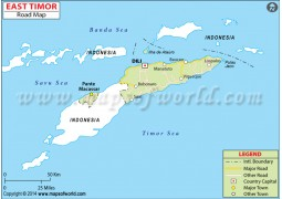East Timor Road Map