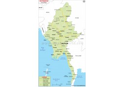 Myanmar Road Map